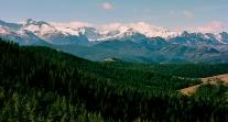 Montana Snow Peaks